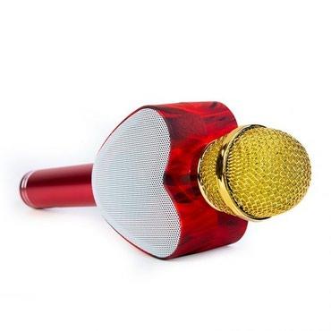 Mikrofonlar Azərbaycanda: Bluetooth Kalonka Ürey formada