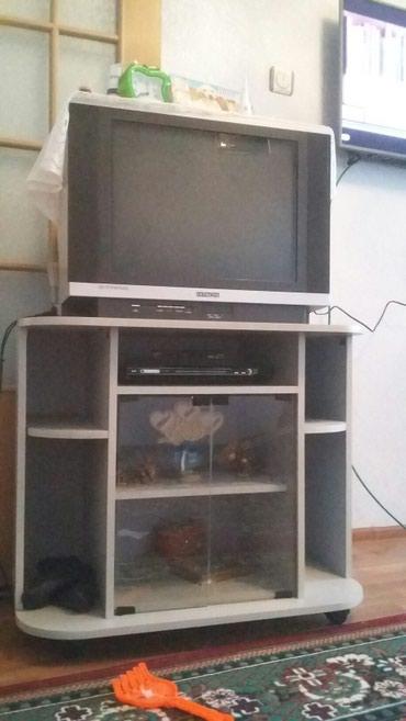 Продаю телевизоры подставка ресивер 4500сом в Бишкек