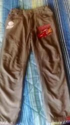 Dečije termo pantalone sive boje... Disney c/a obučene samo jednom, - Vrnjacka Banja