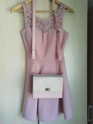 Ostalo | Svilajnac: Haljina i torbica,nošeno samo za maturu