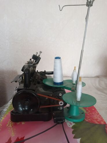 швейная машинка зингер цена в Кыргызстан: Оверлок, состояние хорошее