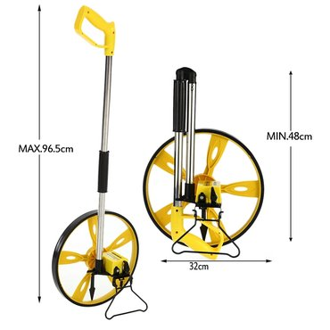 счетчик воды фирмы бетар в Кыргызстан: Колесо рулетка. дальность измерения до 9999 метров. механический