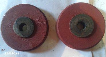 2-kom. Metalnih točkova sa slike,prečnika fi 150mm, debljine - Novi Banovci