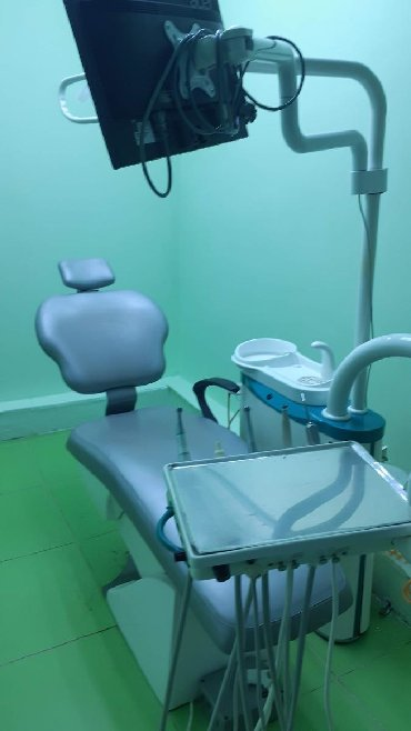стоматологическое литейка в Кыргызстан: Стоматологическое кресло с монитором