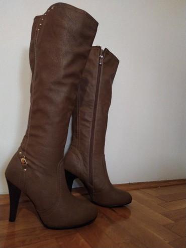 Stikla - Srbija: Nove cizme, stikla 10cm Broj 36