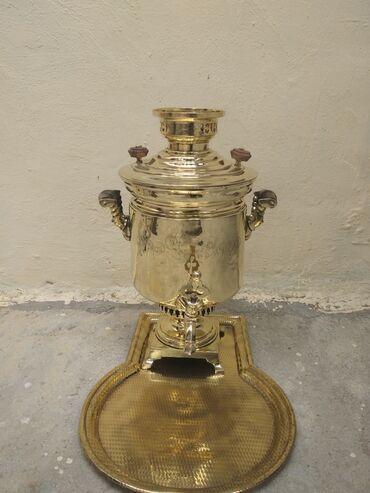 Samovar 1882 ustu 14 pecatli 5 litirlik