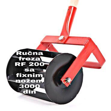 10086 oglasa: Rucna freza rf-200sa fiksnim nozem. Alat za medjurednu obradu za pri