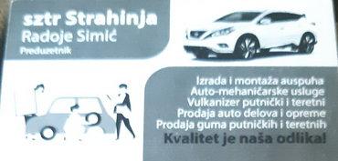 Ostali poslovi | Srbija: Automehaničar potreban autoservisu u Zelezniku,Auto servisu STRAHINJA