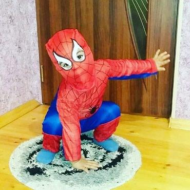uşaq üçün qırmızı papağın kostyumu - Azərbaycan: SpiderMan usaq kostuyumlariRazmer :3-7 yasa kimi(8de olur)Catdrilma
