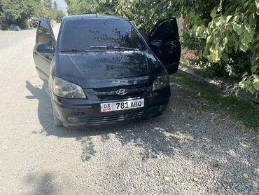 продажа hyundai getz in Кыргызстан   АВТОЗАПЧАСТИ: Hyundai Getz 1.4 л. 2004   200000 км