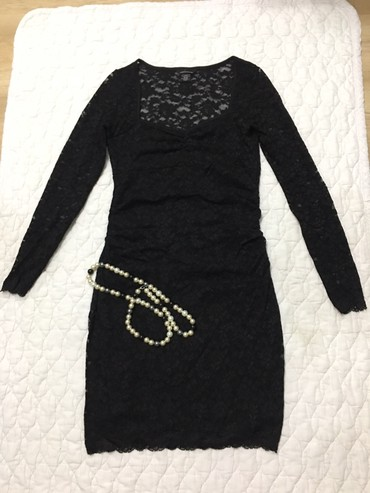кружевное платье большого размера в Кыргызстан: Платье от Виктории сикретс. Кружевное. Размер-М. Цена-500