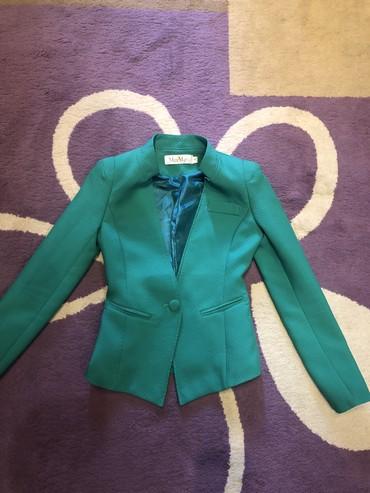 Женские куртки в Кыргызстан: Продаю новый пиджак размер м, фирма max mara за 600