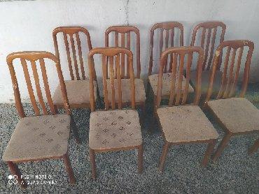 8 шт стул по 700 сом