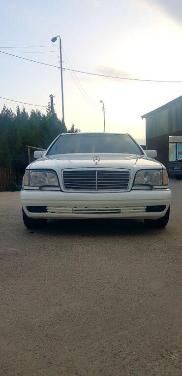 Nəqliyyat - Gəncə: Mercedes-Benz S600 3.2 l. 1995 | 300000 km