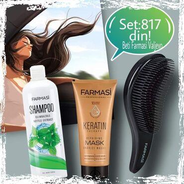 Kosa prirodna - Srbija: Set od 3 akcijska proizvoda za negu kose za samo #817din!-Šampon za