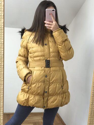 Benfish zimska jakna s vel, poklon mantil