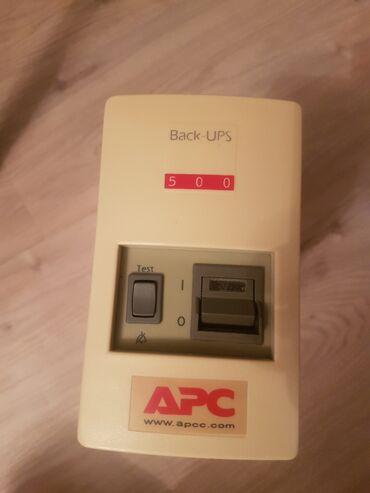 Ups ИБП APC back-ups 500 в отличном состоянии, нужна замена батареи