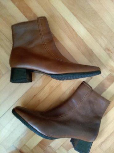 Ženska obuća | Prijepolje: Cizme. Braon. 39. Jednom obuvene