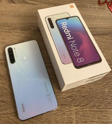 meizu m5 note white в Кыргызстан: Б/у Xiaomi Redmi Note 8 64 ГБ Белый