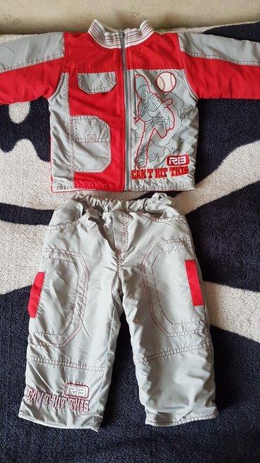 Продам костюмчик если малыш крупный в Лебединовка