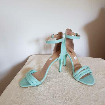 carape sa prstima u Srbija: Nove PERLA sandale, plave boje