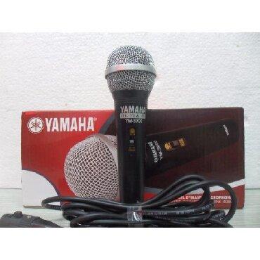 Bakı şəhərində Yamaha mikrafon teze qutuda