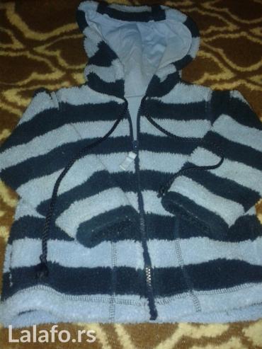 Topla jaknica kao cebence,sa kapuljacom,vel 2-3 marks & spencer,na - Novi Sad