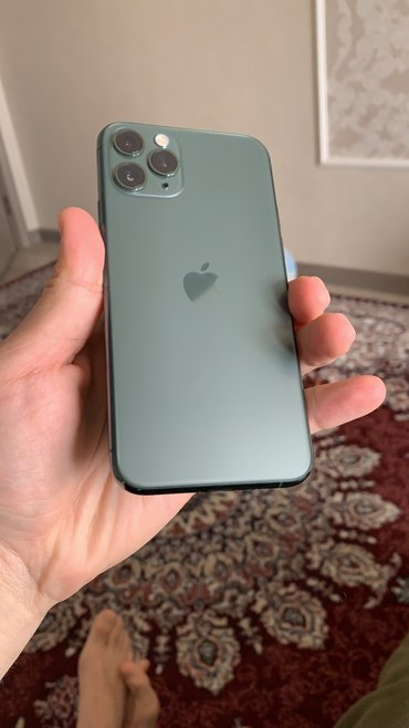 bercy usa в Кыргызстан: Б/У IPhone 11 Pro 256 ГБ Зеленый