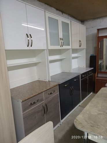 буфет кухня в Кыргызстан: Кухонная мебель: Фасады МДФ Акрил. Буфеты