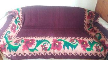 Pirotski cilim - Srbija: Cilim rucno tkan,vuna,star 50 godina,195×150