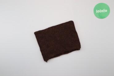 Жіночий коричневий шарф-снуд    Стан: дуже гарний