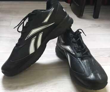 55 размер!!! Кожаные кроссовки Reebok с Америки. Размер 55, длина