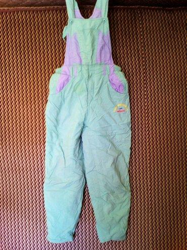 Prenatal zimske decije pantalone na tregere, vel. 10-12 godina, - Pozarevac
