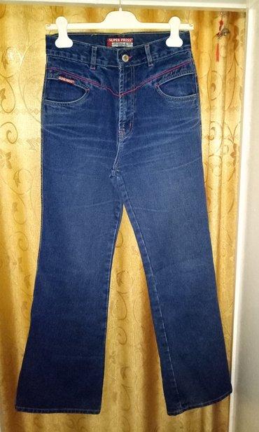 Продаю турецкие джинсы с красной строчкой. размер 30. в Бишкек