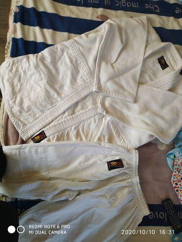 хир форма в Кыргызстан: Продаю кимоно для дзюдо, состояние хорошее,размер 5/180, производство