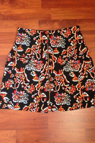 Брендовая юбка ZARA на замочке с переди,размер S,\ в Бишкек