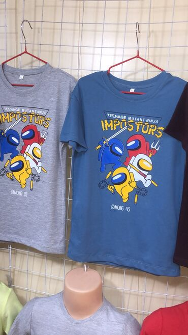 Детские футболки мальчиковые от 5 до 10 лет