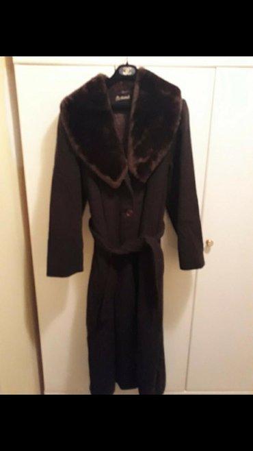 Ponco vuna akril - Srbija: Kaput tamno braon. vuna