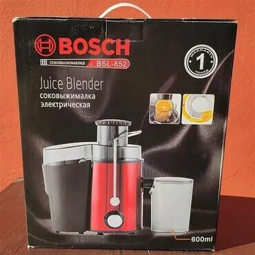 Электроника - Таджикистан: Электрическое соковыжималка Bosch BSL 852 - БЕСПЛАТНОЕ ДОСТАВКА ПО