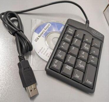 клавиатура для ноутбука в Кыргызстан: Num клавиатура (NUMPAD). Новые в коробке. (USB - установка