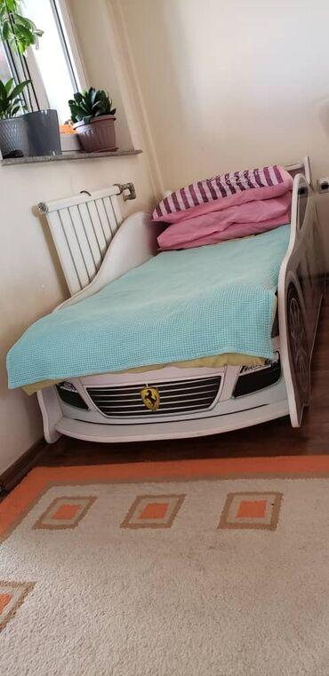 """Продаю Детскую кровать Феррари """"baby mebel"""" Состояние хорошо, С"""