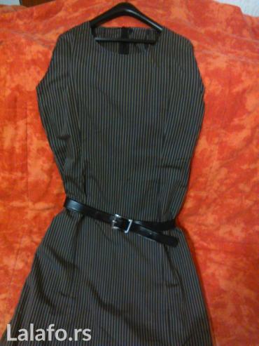 Amucna duga haljina na prugice,duzina125,struk - Vranje