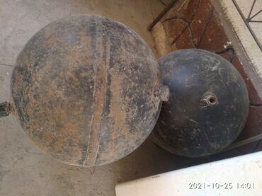 рио токмок квартиры in Кыргызстан | АВТОЗАПЧАСТИ: Продаю 2 круглых газовых баллона на ГБО. Диаметром 50 см, весом 50 кг
