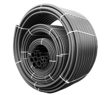 ПЭ труба черная 5 атмосфер (полиэтиленовые трубы)Трубы технические из