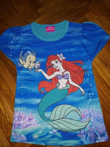Majica Disney Princess, velicina 7-8. Jednom ili dva puta nosena - Belgrade