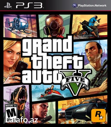 """Bakı şəhərində """"GTA 5"""" PS3"""