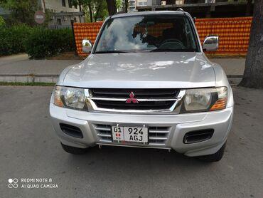 Mitsubishi - Кыргызстан: Mitsubishi Pajero 3.5 л. 2001   154600 км