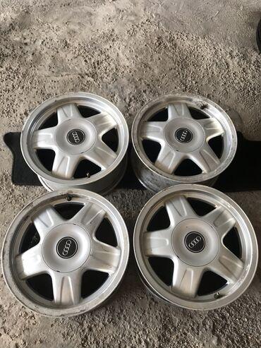 купить шины 205 60 r16 лето в Кыргызстан: Ауди Комплект Дисков R15! 5х112! Привозные из Германии! Диски не Варе