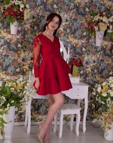 Платье на прокат 500 сом.  1 - 3 дня размер М (42 -44) в Токмак