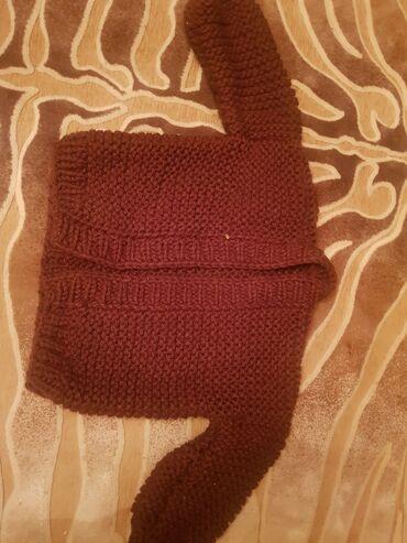 Вязанная шерстяная кофта